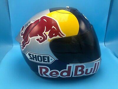 Red Bull SHOEI Motorcycle Helmet Athlete ONLY! BRAND NEW! RARE!
