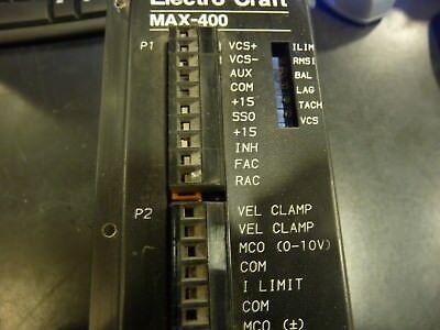 Electro-craft Max-400 Dc Servo Drive