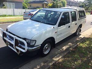 1997 Holden rodeo dual cab canopy bull bar tow bar rego Girraween Parramatta Area Preview