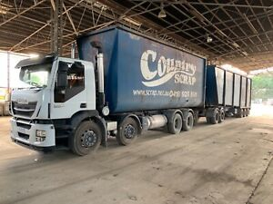Iveco 8x4 tipper Naval Base Kwinana Area Preview