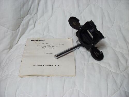 Nikon F Slide Copy Attachment with box and manual