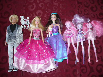Barbie Mattel Fashion Fairytale Doll Lot of 6