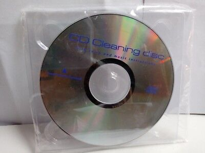 CD Cleaning Disc with voice and music instructions