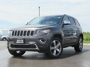 "2016 Jeep Grand Cherokee Limited! 8.4"" Screen! Sunroof"