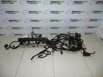 2004 BMW MINI COOPER 1.6 PETROL W10B16A ENGINE WIRING HARNESS LOOM & INJECTORS