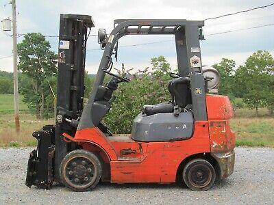 Toyota Forklift 7fgcu25 5000 Lpg Three Stage Mast
