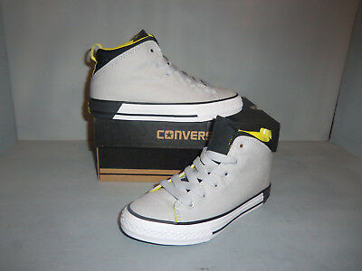 Converse Chuck Taylor All Star Official Mid Oxford Shoes #656073F Youth Gray NIB - Chuck Taylor All Star Oxford