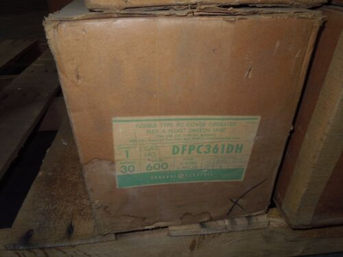 Ge Dfpc361dh 30a 3ph 3w 600v Fusible Busplug New Surplus