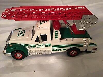 VTG.1994 HESS Ladder Fire Truck,LIGHTS,SOUNDS,HORN,FLASHER,emergency vehicle,gas