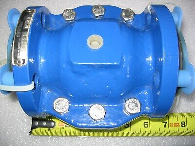 Airflex 1-12 Flanged Pneumatic Pinch Valve W Natural Rubber Tube Sleeve - New