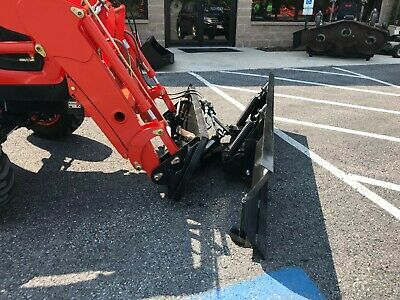 New 78 Snow Plow. Quick Attach Hydraulic Angle Kubota Kioti Manhindradeere