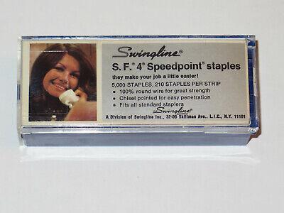 Swingline Sf 4 Speedpoint Staples Full Plastic Container