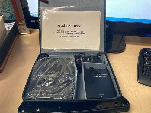 Audio Source Real Time Audio Spectrum Analyzer