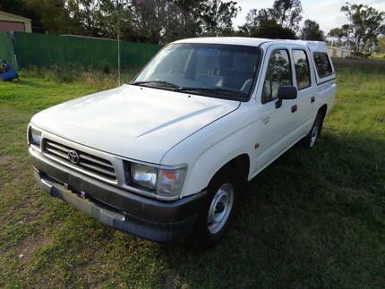 1999 Toyota Hilux Dual Cab Ute 3.0L Diesel with canopy Riverview Ipswich City Preview