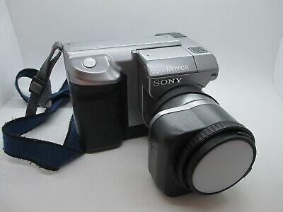 Sony Digital Mavica MPEG Movie Digital Camera MVC-FD91 Steady Shot TESTED WORKIN