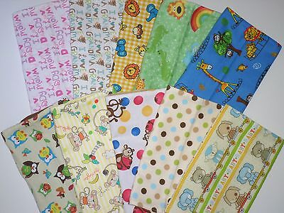 Handmade Baby Burp Cloths Baby Boy & Girl Baby Shower Gift (Owl,Monkey,Elephant) - Owl Boy Baby Shower