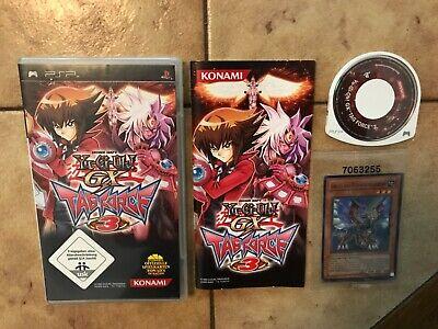 Yu-Gi-Oh GX: Tag Force 3 (Sony PSP, 2008) komplett mit Spielkarten (Gallis,..) ()
