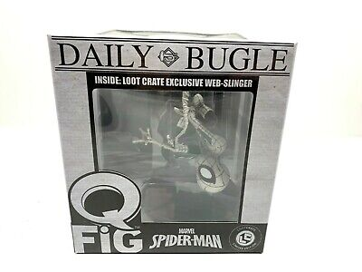 Q Fig Marvel Spider-Man Daily Bugle Lootcrate Limited Edition 2017