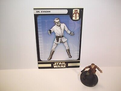 Star Wars Miniatures - DR. Evazan 17/60 + Card - Very Rare - Universe