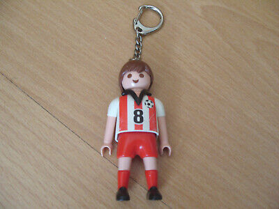 Playmobil Set 7874 Football Soccer Player Keychain Footballer Keyring