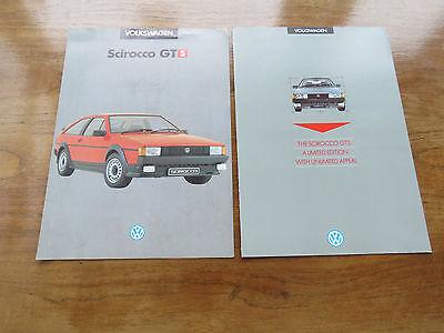 Volkswagen scirocco GT and GTS flyers
