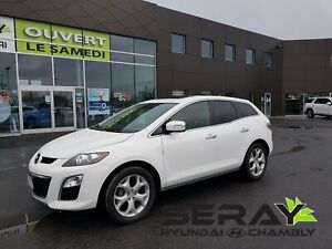 2012 Mazda CX-7 GT, mags, a/c, bluetooth, toit ouvrant,