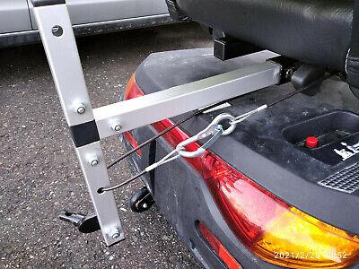 E-Mobil / Seniorenmobil-Adapter für Fahrradanhänger (Scooter) mit Sicherungseil