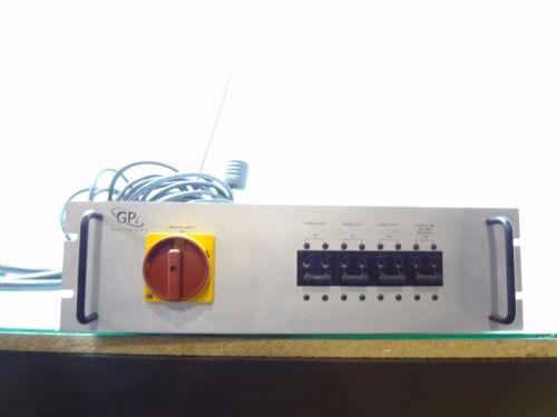 General Plasma Inc. Main Disconnect Power Supply Power Control Unit