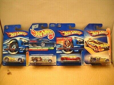 Hot Wheels Treasure Hunt Way 2 Fast Track Aces Stars FTE Faster Than Ever Lot