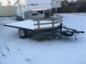 1999 SWS 12 Foot Sled Trailer