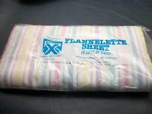 flannelette sheet single bed Shailer Park Logan Area Preview