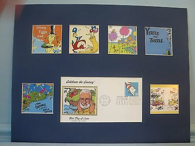 The Stories of Doctor Seuss & First Day Cover of the Cat in the Hat stamp