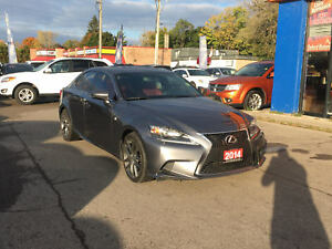 2014 Lexus IS 350 F Sport | READ LEATHER | NAV | ROOF | CAM