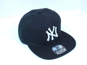 New York Yankees Snap Back Adjustable Hat Cap NY One Size 100% Acrylic New!