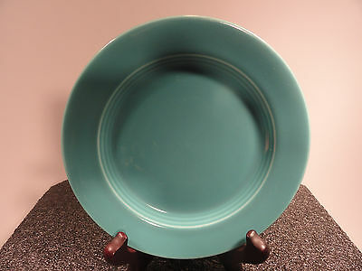 Homer Laughlin Turquoise Harlequin Bread and Butter Plate