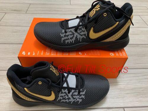 Men's Nike Kyrie Flytrap II 2 Basketball Shoes Black/Gold AO