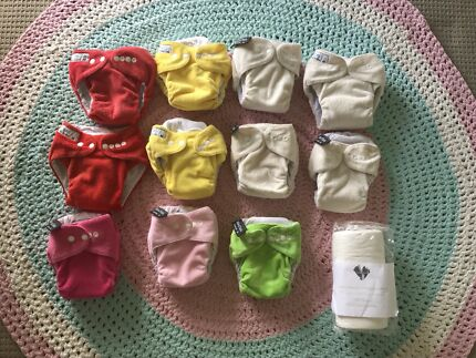 11 x MODERN CLOTH NAPPIES (MCN) FOR SALE