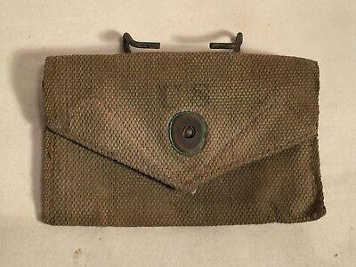 WWII BOYT canvas U.S. Army USMC First Aid bandage pouch