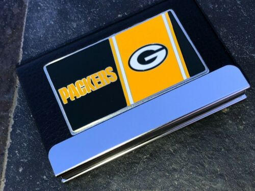 Multi-Purpose Case - Excellent Quality - Polished Chrome - Green Bay Packers