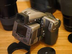 HASSELBLAD H2 camera + HC lenses from 28mm to 150mm etc Brighton-le-sands Rockdale Area Preview