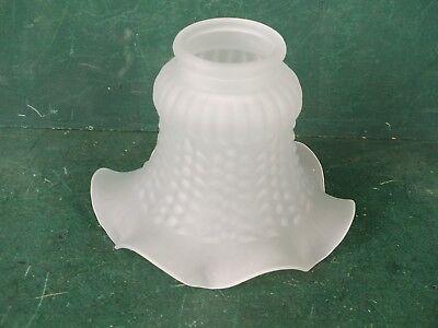 Lampenschirm Jugendstil Glasschirm Matt für viele Wand Stand oder Hängelampen