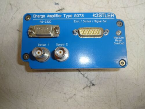 KISTLER INSTRUMENT 5073A211 CHARGE AMPLIFIER