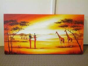 African painting/ picture frame Southern River Gosnells Area Preview