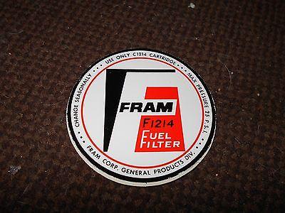1920/'s 1930/'s 1940/'s CADILLAC FRAM 3PC OIL FILTER DECAL STICKER SET FOR RESTORAT