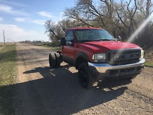 2003 Ford F 550 Cab and Chassis