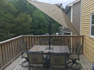 Patio dining set - Sold!