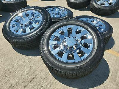 "20"" GMC Sierra Denali 2500 3500 OEM 2019 wheels and tires 5704 5804 2018 2020 OE"