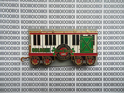 Hard Rock Cafe Cologne 2003 - Europeen Christmas Train Limited Edition Pin Set