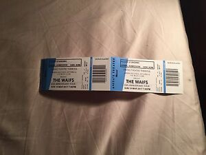 2x Waifs tickets - Anita's Theatre Thirroul Capital Hill South Canberra Preview