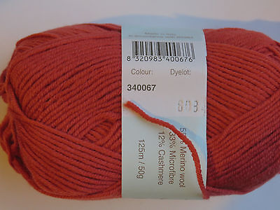 1sk Debbie Bliss BABY CASHMERINO #067 Sienna  for sale  Shipping to India